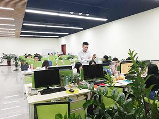 华商内贸网络推广事业部