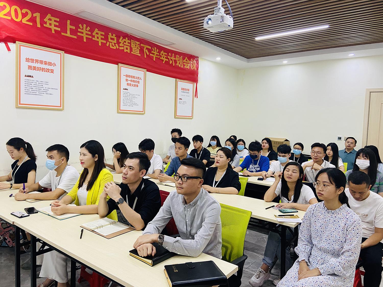 华商网络员工全体会议